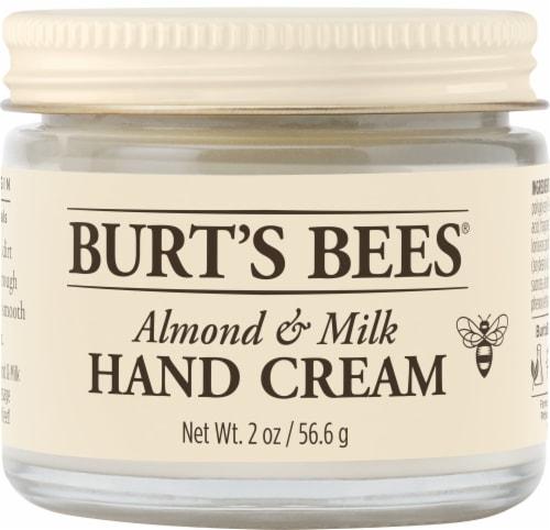 Burt's Bees Almond Milk Hand Cream Perspective: front