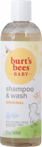 Burt's Bees Baby Bee Shampoo & Body Wash Perspective: front