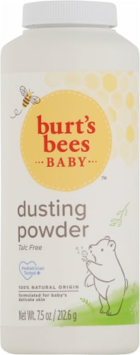 Burt's Bees Baby Bee Dusting Powder Perspective: front
