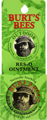 Burt's Bees Res-Q Ointment Perspective: front