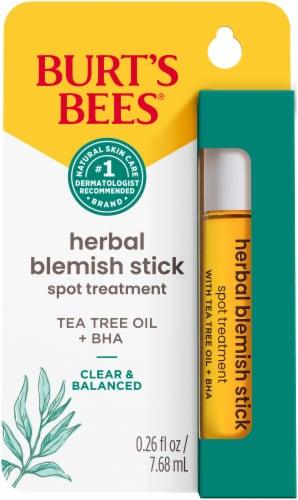 Burt's Bees Herbal Blemish Stick Perspective: front