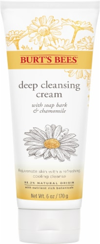 Burt's Bees Soap Bark & Chamomile Cleansing Cream Perspective: front
