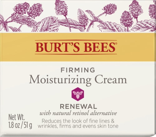 Burt's Bees Renewal Firming Night Cream Perspective: front