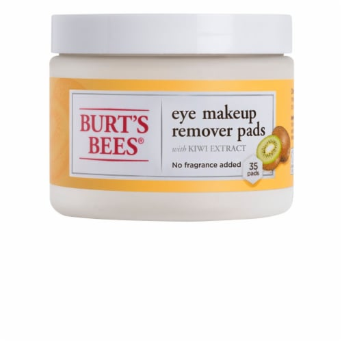 Burt's Bees Eye Makeup Remover Pads With Kiwi Extract Perspective: front