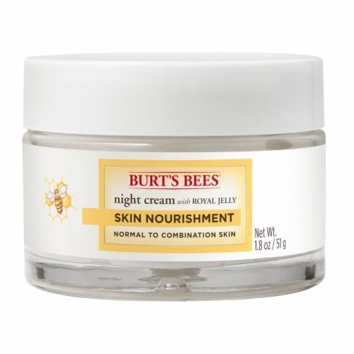 Burt's Bees Skin Nourish Night Cream Perspective: front