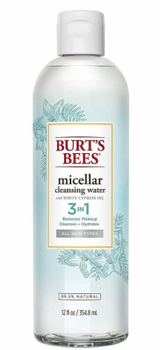 Burt's Bees 3 in 1 Micellar Cleansing Water Perspective: front