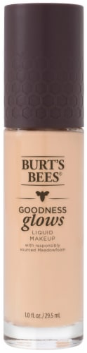 Burt's Bees Goodness Glows Porcelain Liquid Foundation Perspective: front
