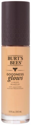Burt's Bees Goodness Glows Buff Liquid Foundation Perspective: front