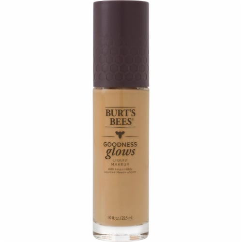 Burt's Bees Goodness Glows Soft Honey Liquid Foundation Perspective: front