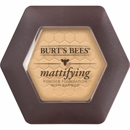Burt's Bees Natural Mattifying Bare Powder Foundation Perspective: front