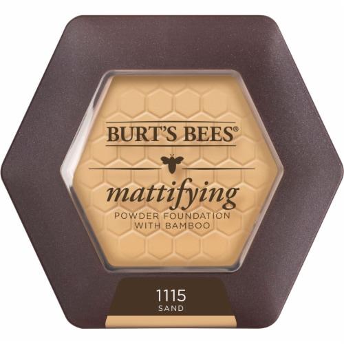 Burt's Bees Sand Mattifying Powder Foundation Perspective: front