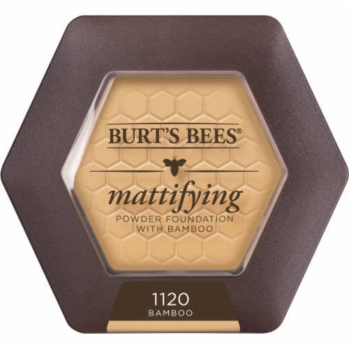 Burt's Bees 1120 Bamboo Mattifying Powder Foundation Perspective: front