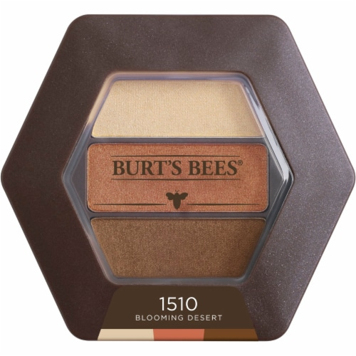 Burt's Bees 1510 Blooming Desert Eye Shadow Palette Perspective: front
