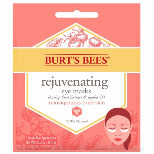 Burt's Bees Rejuvenating Eye Mask Perspective: front