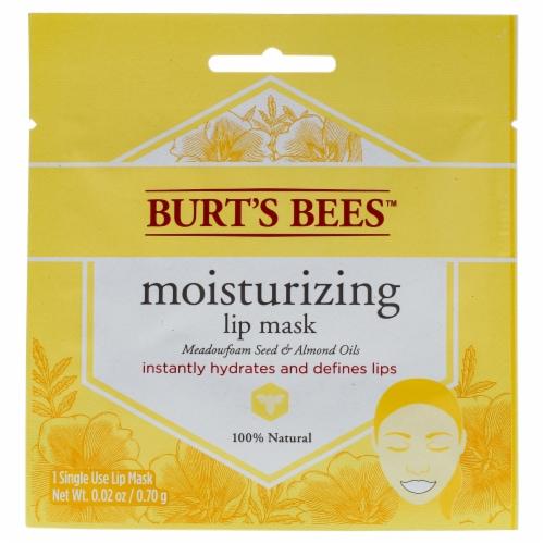 Burt's Bees Moisturizing Lip Mask Perspective: front