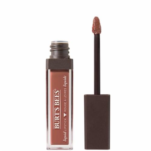 Burt's Bees Sandy Seas Moisturizing Liquid Lipstick Perspective: front