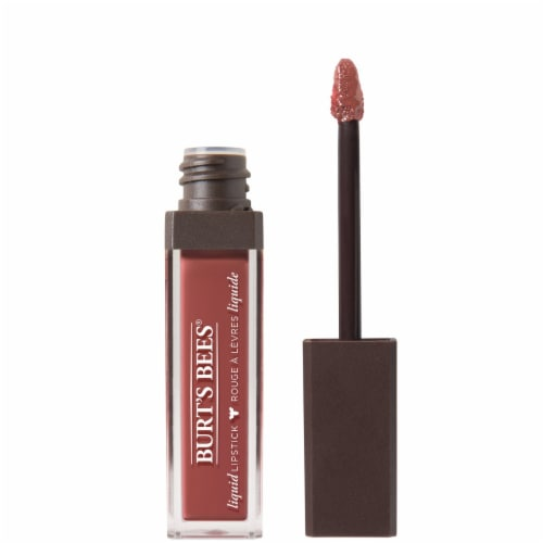 Burt's Bees 100% Natural Moisterizing Tidal Taupe Liquid Lipstick Perspective: front