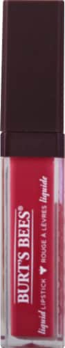 Burt's Bees 100% Natural Moisturizing Flushed Petal Liquid Lipstick Perspective: front