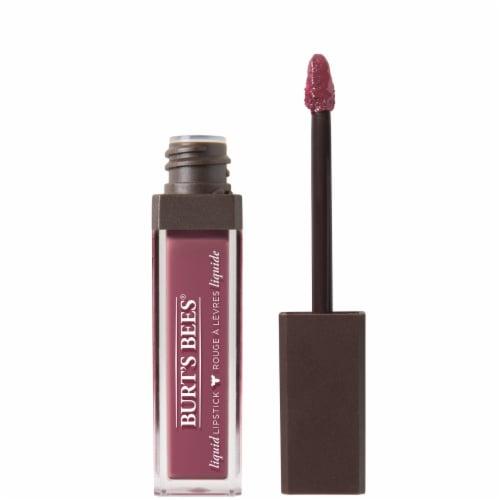 Burt's Bees 100% Natural Moisterizing Blush Brook Liquid Lipstick Perspective: front