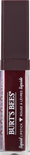 Burt's Bees 100% Natural Moisterizing Wine Water Liquid Lipstick Perspective: front