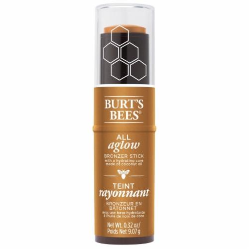 Burt's Bees All Aglow Bronze Splash Bronzer Stick Perspective: front