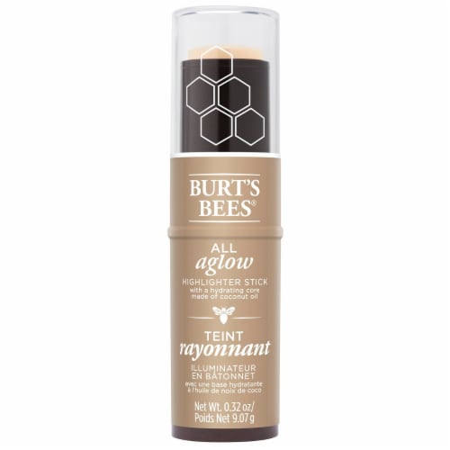 Burt's Bees Natural All Aglow Opal Mist Highlighter Stick Perspective: front