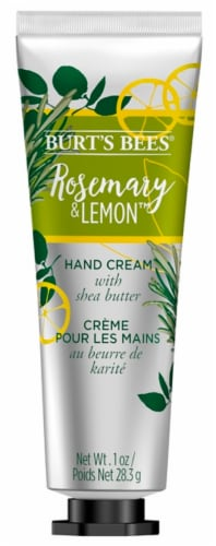 Burt's Bees Rosemary & Lemon Hand Cream with Shea Butter Perspective: front