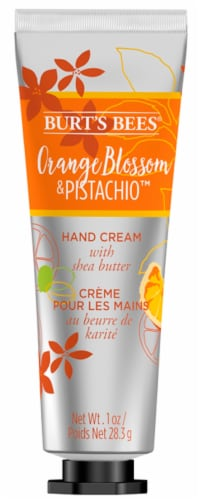 Burt's Bees Orange Blossom & Pistachio Hand Cream with Shea Butter Perspective: front