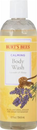 Burt's Bees Calming Lavender & Honey Body Wash Perspective: front
