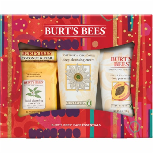 Burt's Bees Face Essentials Holiday Gift Set Perspective: front