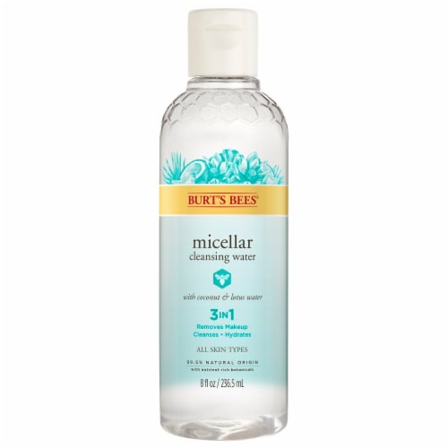 Burt's Bees Micellar Coconut and Lotus Cleansing Water Perspective: front