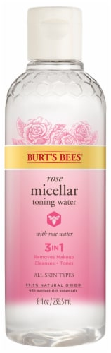 Burt's Bees Rose Micellar Cleansing Water Perspective: front
