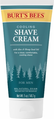 Burt's Bees For Men Cooling Shave Cream Perspective: front