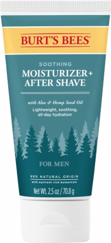 Burt's Bees Aloe & Hemp Soothing Moisturizer Plus After Shave Perspective: front
