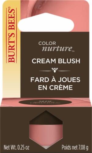Burt's Bees Color Nurture Cream Blush - Guava Meringue Perspective: front