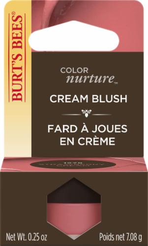 Burt's Bees Color Nurture Cream Blush - Strawberry Cream Perspective: front