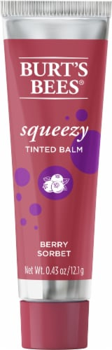 Burt's Bees Berry Sorbet Squeezy Tinted Lip Balm Perspective: front