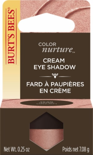 Burt's Bees ColorNurture Rose Cream Cream Eye Shadow Perspective: front