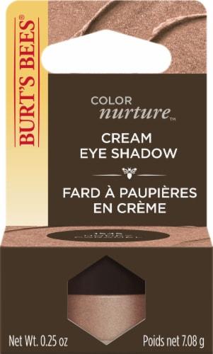 Burt's Bees Color Nurture Cream Eye Shadow - Honey Caramel Perspective: front