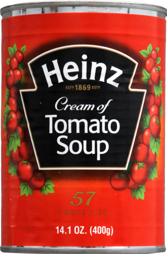 Heinz Cream of Tomato Soup Perspective: front