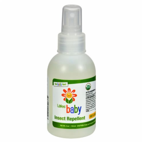 Lafe's  Organic Baby Insect Repellent Perspective: front