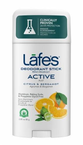 Lafes Active Scent Deodorant Stick Perspective: front