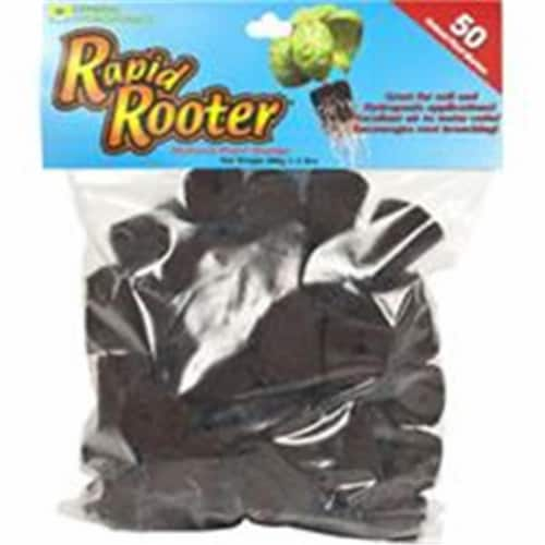 General Hydroponics Rapid Rooter Insert and Starter Plugs 50 - Case Of: 1; Each Pack Qty: 50; Perspective: front