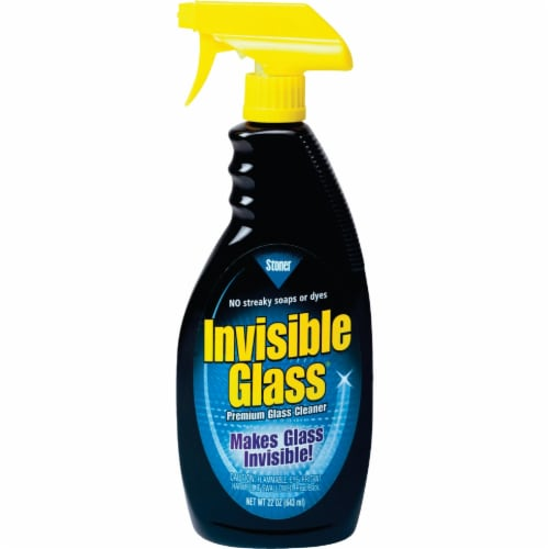 Invisible Glass Cleaner Spray Perspective: front