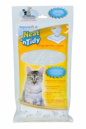 Neat N Tidy Litter Sifting Liners by Imperial Cat, 2 Pack Perspective: front