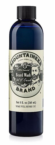 Mountaineer Brand  Beard Wash WV Coal Perspective: front