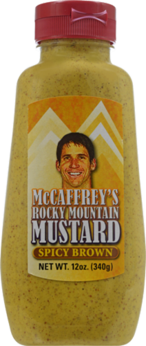 McCaffrey's Rocky Mountain Brown Spicy Mustard Perspective: front