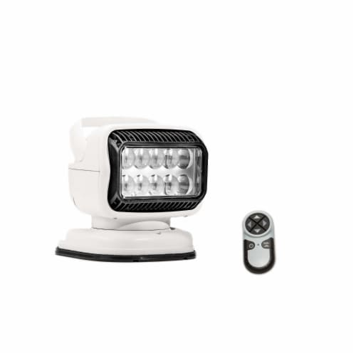 GOLIGHT INC 79014GT Golight GT LED Magnetic Mount Shoe Wireless Remote White Perspective: front