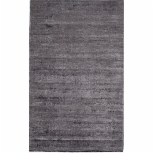 Rugs America 25273 Kendall Gunmetal Rectangle Solid Rug, 8 x 10 ft. Perspective: front