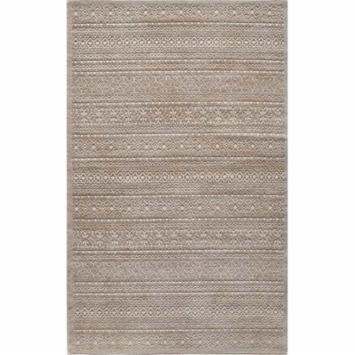 Rugs America 25965 Riviera Cream Rectangle Oriental Rug, 8 x 10 ft. Perspective: front
